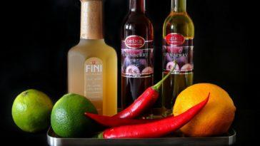 Limón, vinagre y pimienta roja