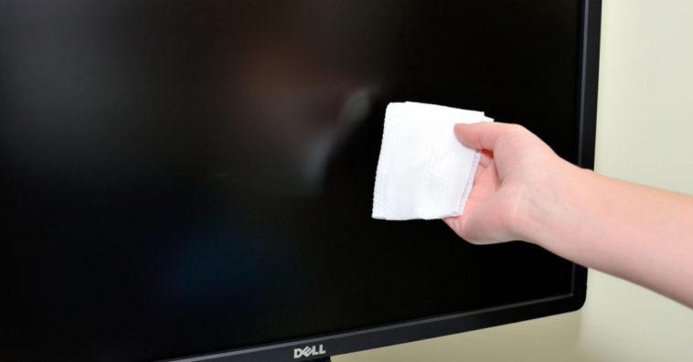 Limpiar la pantalla de TV