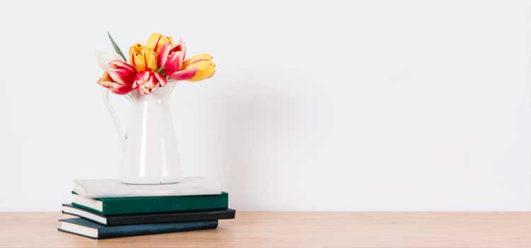arreglos florales minimalista artificial