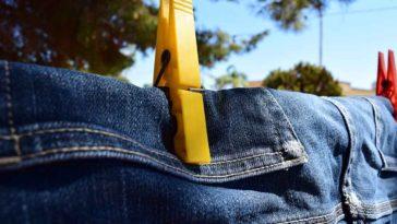 Lavar los jeans