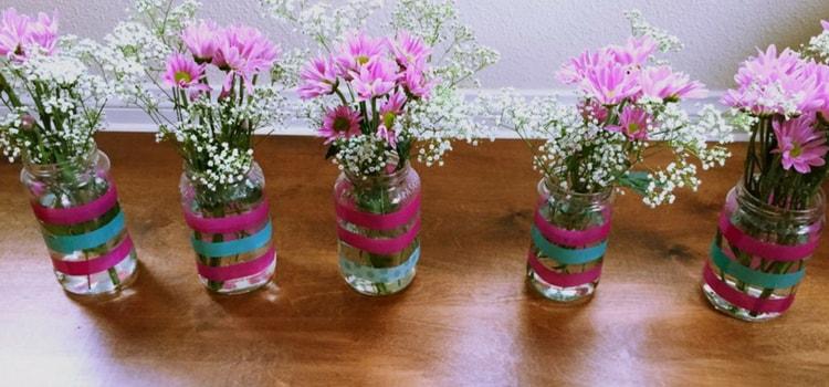 Tarros para las flores