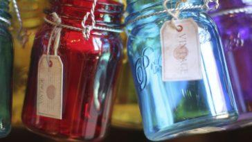 reutilizar frascos de vidrio