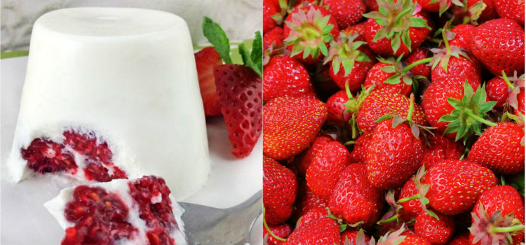 Flan de yogur con frutas Recetas con frutas