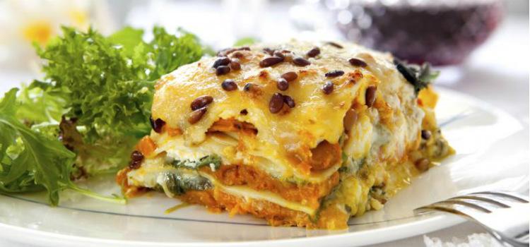 Lasana vegetariana recetas vegetarianas