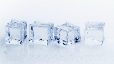 Quitar estrias con hielo