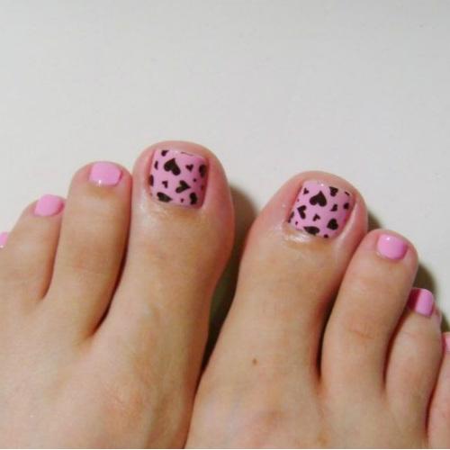 uñas de los pies decoradas