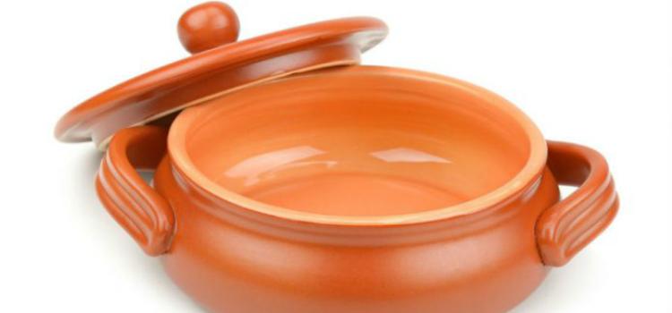 curar una olla de barro ollas