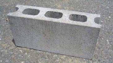 decoracion con bloques de cemento