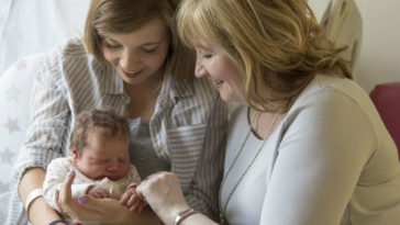 ninos heredan genetica de su abuela materna