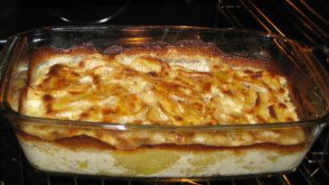 pastel de patatas con jamon y queso